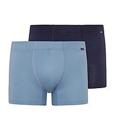 Hanro Essentials Cotton Stretch Boxer Briefs - 2 Pack 73079