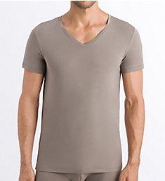 Hanro Cotton Superior V-Neck T-Shirt 73089