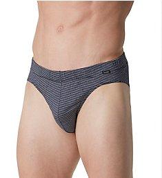 Hanro Sporty Stripe Jersey Cotton Brief 74080