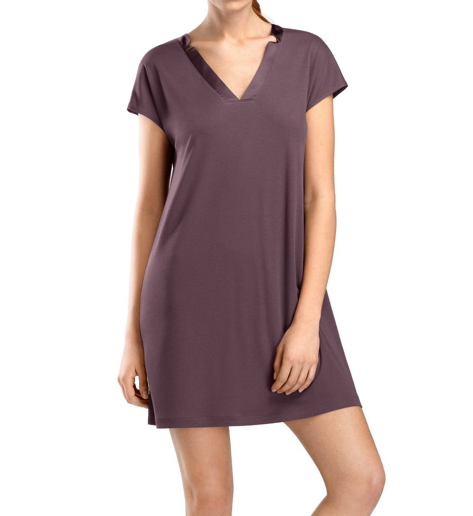 Hanro Ivy Cap Sleeve Gown 76194