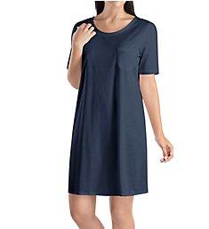 Hanro Cotton Deluxe Short Sleeve Big Shirt 7953
