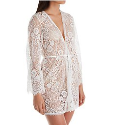 In Bloom by Jonquil Addicted to Love Lace Wrap Robe ATL030