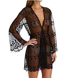 In Bloom by Jonquil Beautiful Creatures Embroidered Wrap Robe BFC030