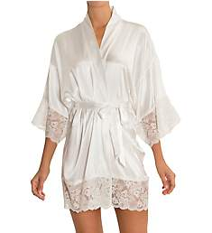 In Bloom by Jonquil Satin Bridal Wrap Robe HER030