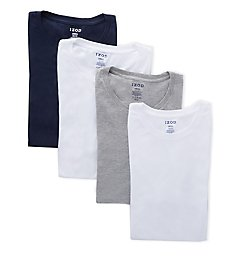 Izod 100% Cotton Crew Neck T-Shirt - 4 Pack 00CPT10