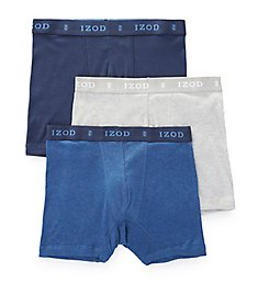 Izod Men's Cotton Boxer Briefs - 3 Pack 173PB11