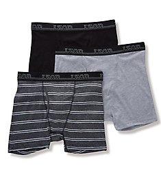 Izod Men's Cotton Boxer Briefs - 3 Pack 181PB10