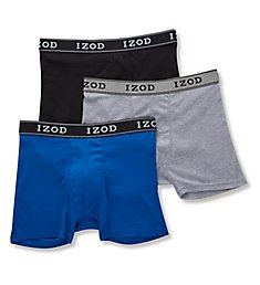 Izod Men's Cotton Boxer Briefs - 3 Pack 181PB11