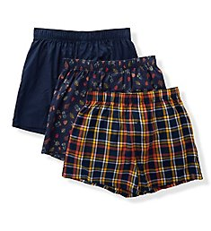 Izod Men's Cotton Boxers - 3 Pack 183WB15
