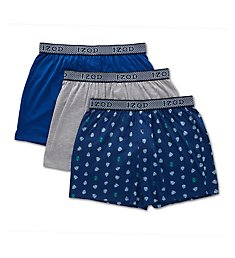 Izod Knit Boxers - 3 Pack 191YB14