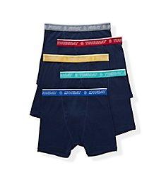Izod Cotton Fashion Boxer Briefs - 5 Pack 193PB13
