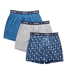 Izod Fall Festival Knit Boxers - 3 Pack 193WB14
