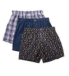 Izod Sweet Escape Woven Boxers - 3 Pack 201VB15