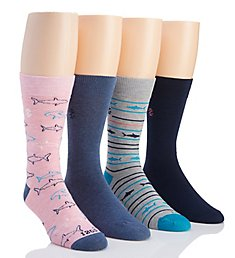 Izod Fashion Dress Socks - 4 Pack DR11001