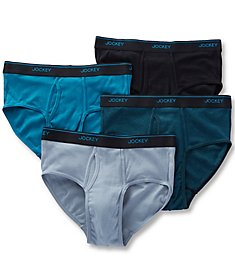 Jockey Stay Cool Plus Briefs - 4 Pack 8100