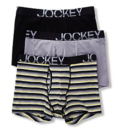 Jockey Low Rise Cotton Stretch Boxer Brief - 3 Pack 8785