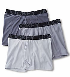 Jockey Active Mesh Boxer Briefs - 3 Pack 9028