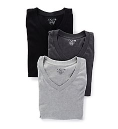 JOE's Jeans Underwear Premium Cotton V-Neck T-Shirts - 3 Pack 24300R