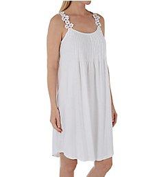 La Cera 100% Cotton Bloom Knit Chemise 1506C