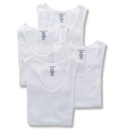 Lucky Cotton Ribbed Tank - 4 Pack 00CPT15