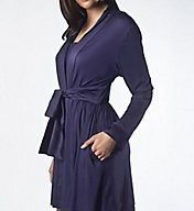 Maidenform Smooth & Luxe Satin Belt Robe M80004