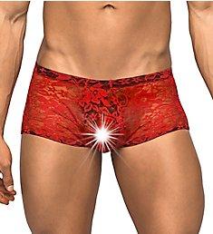 Male Power Stretch Lace Mini Trunk 145-162
