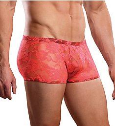 Male Power Neon Lace Mini Short 145-194