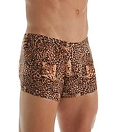 Male Power Animal Print Pouch Trunk 153-030
