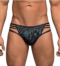 Male Power Strapped & Bound Strappy Thong 419-238