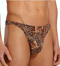 Male Power Animal Print Wonder Thong 444-030
