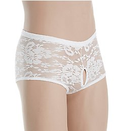 Male Power Stretch Lace Double Pleasure Trunk 468-162