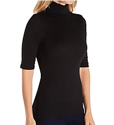 Michael Stars Shine Gabriella Half Sleeve Turtleneck 0577