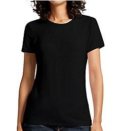 Michael Stars Luxe Jersey Joni Slim Crew Neck Short Sleeve Tee 2458