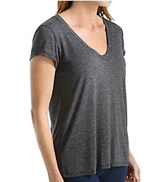 Michael Stars Brooklyn Jersey Short Sleeve Center Back Seam Tee 6992