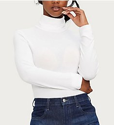 Michael Stars 2X1 Rib Long Sleeve Turtleneck 8824