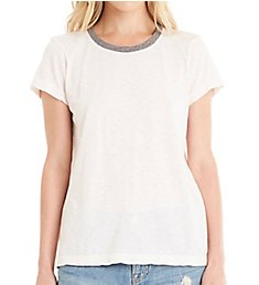 Michael Stars Short Sleeve Crew Neck Ringer Tee 8900
