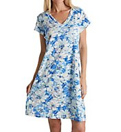 Miss Elaine Cottonessa Short Capsleeve Gown with Pockets 203806
