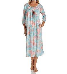 Miss Elaine Cottonessa Long Sleeve Long Gown 517807