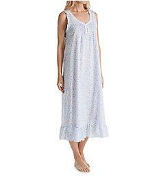 Miss Elaine 100% Cotton Woven Long Gown 524707