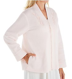 Miss Elaine Brushed Back Terry Bed Jacket 801000