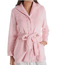 Miss Elaine Cuddle Fleece Button Front Bed Jacket 801548