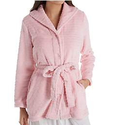 Miss Elaine Cuddle Fleece Button Front Bed Jacket 801548