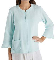 Miss Elaine Brushed Back Terry Bed Jacket 801808