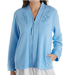 Miss Elaine Quilt-In-Knit Bed Jacket 801908