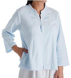 Miss Elaine Brushed Back Terry Bed Jacket 806009