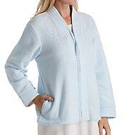 Miss Elaine Brushed Back Terry Bed Jacket 806837