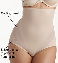 Naomi & Nicole Cool and Comfortable Hi-Waist Shaping Brief 7425