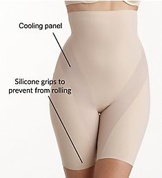 Naomi & Nicole Cool and Comfortable Hi-Waist Thigh Slimmer 7429