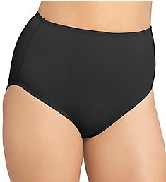 Olga Light Shaping Hi-Cut Brief Microfiber Panty 23044