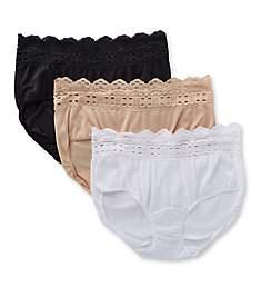 Olga Secret Hug Scoop Hipster Panty - 3 Pack 913J3
